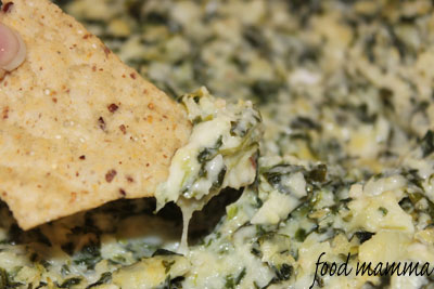 Hot Spinach And Artichoke Dip Food Mamma