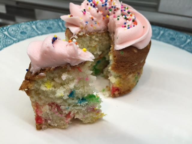 Funfetti Cupcakes Interior