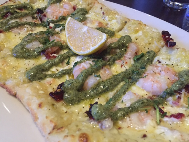 Brown's Shrimp Pizza