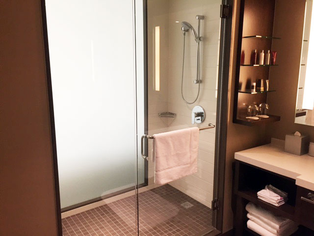 Marriott Bathroom YYC