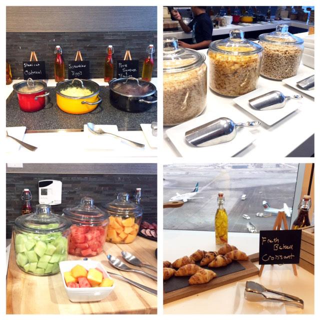 Marriott M Club Lounge Breakfast