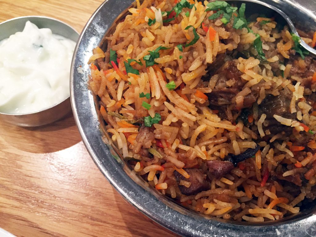 The Curry Leaf - Mutton Biryani