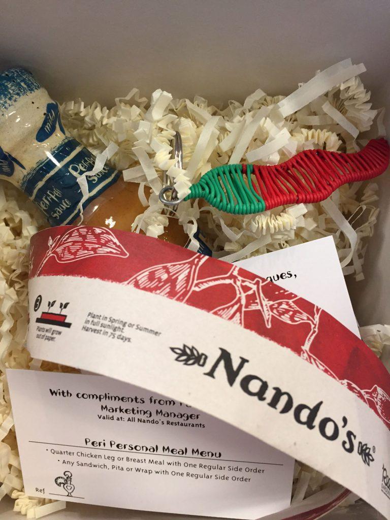 Nando's Prize