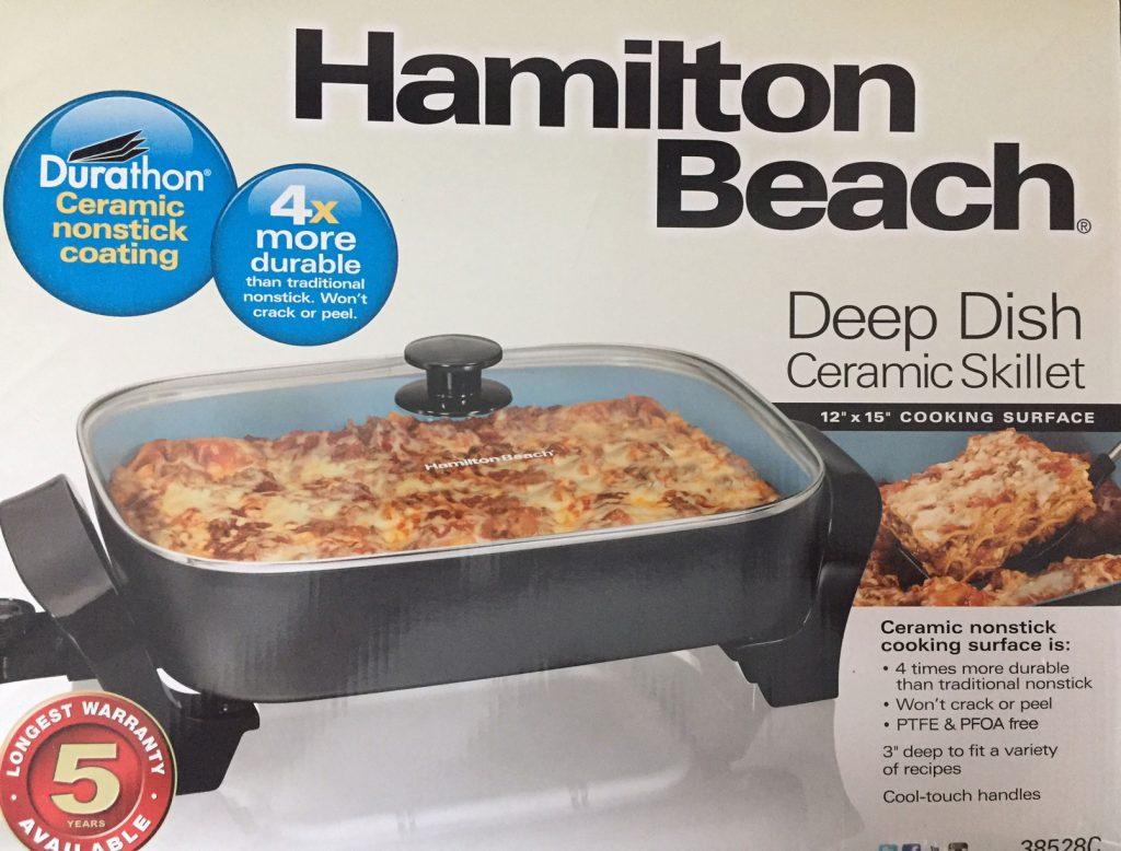 Hamilton Beach Skillet