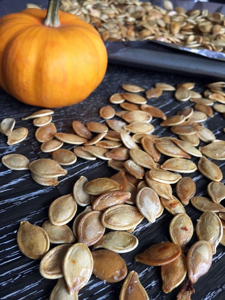 Butter Roasted Pumpkin Seeds