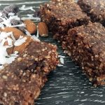 Chocolate and Almond Butter Bars