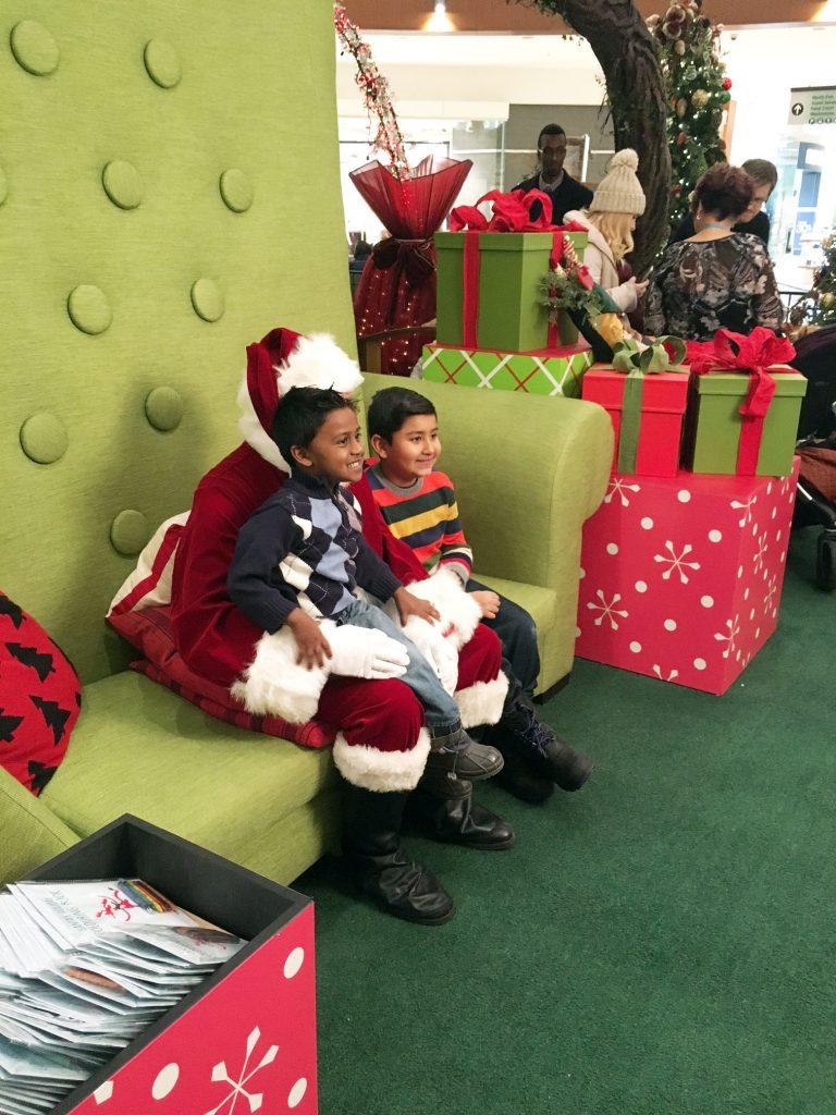Santa at Southcentre