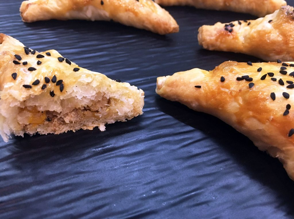 Chicken and Peach Turnovers