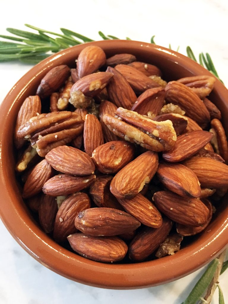 Rosemary Almonds and Pecans