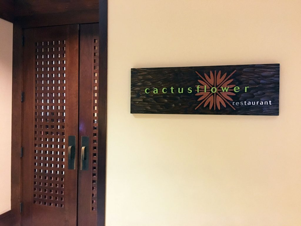 Marriott Cactus Flower
