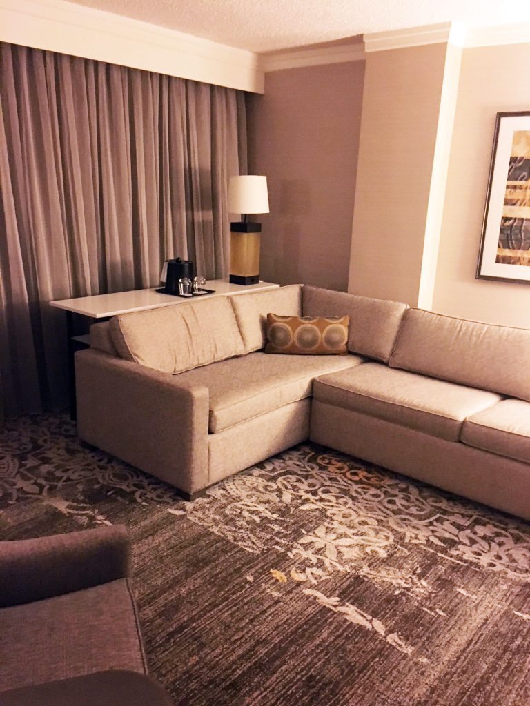 Marriott Living Room