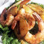 Roasted Pears, Fennel and Shrimp Salad