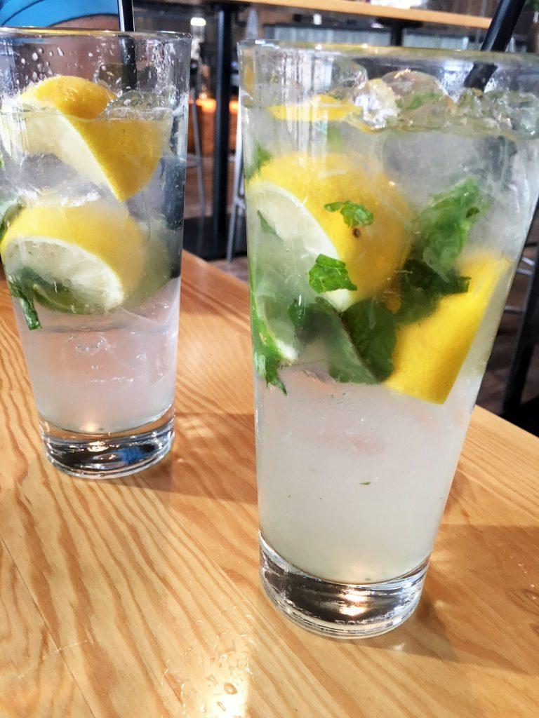 The Loft Lounge Basil Lemonade