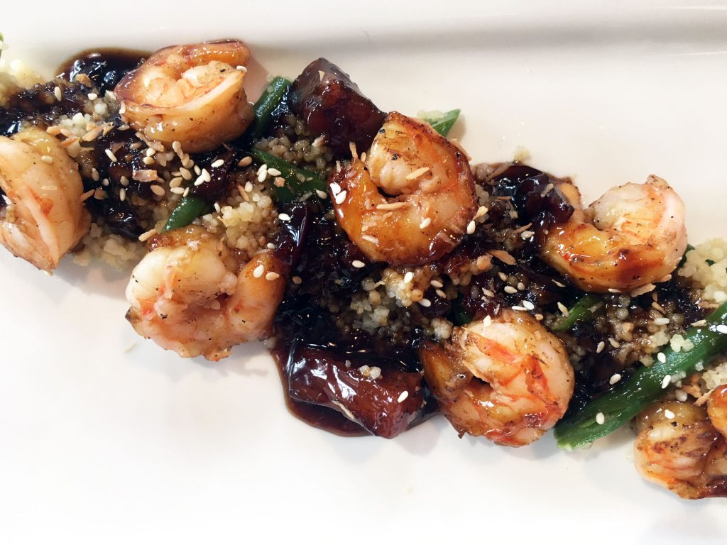 The Loft Lounge Teriyaki Shrimp