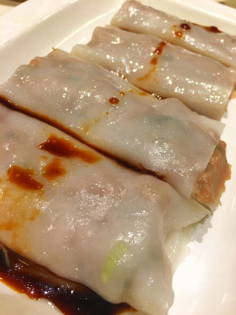 Dim Sum - Beef and Spinach Crepe
