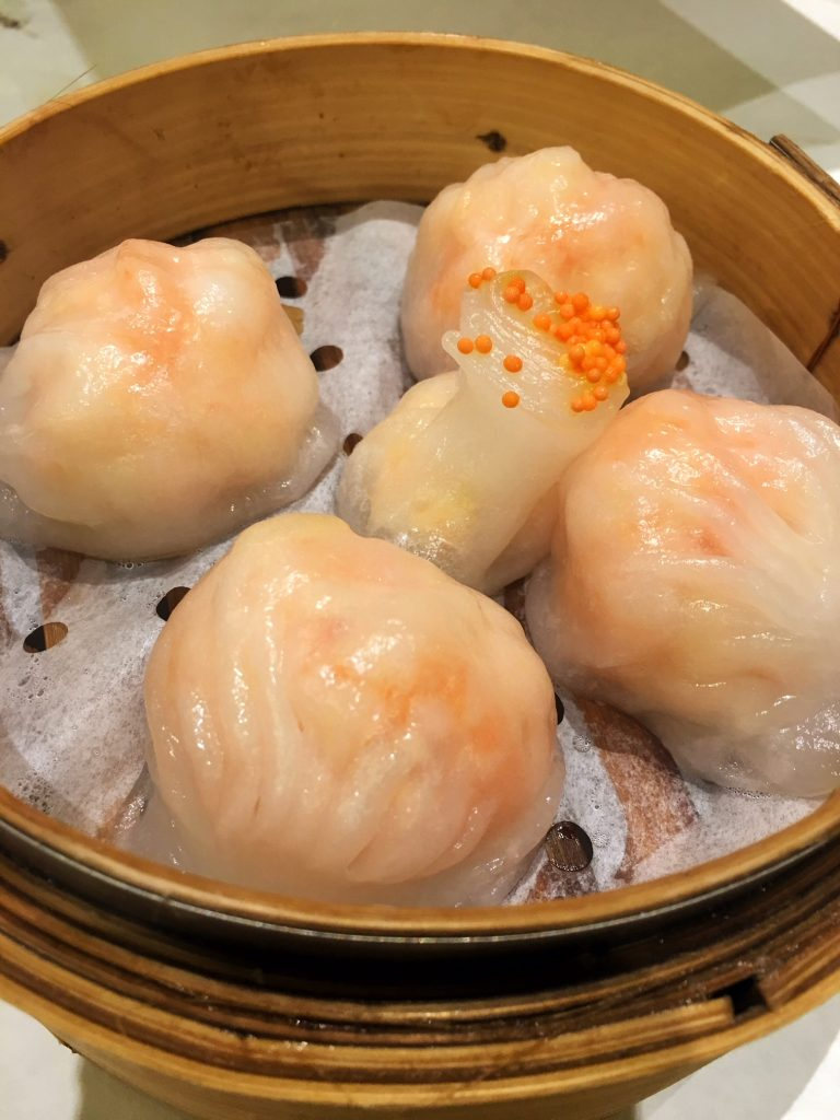 Dim Sum - Steamed Shrimp Dumplings