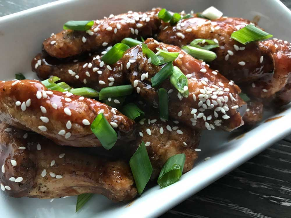 Air Fryer Teriyaki Hot Wings