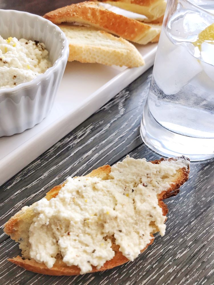 Greek Lemon Ricotta