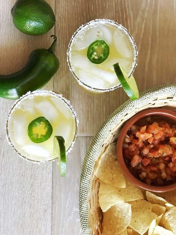 Jalapeno Margarita Mocktail
