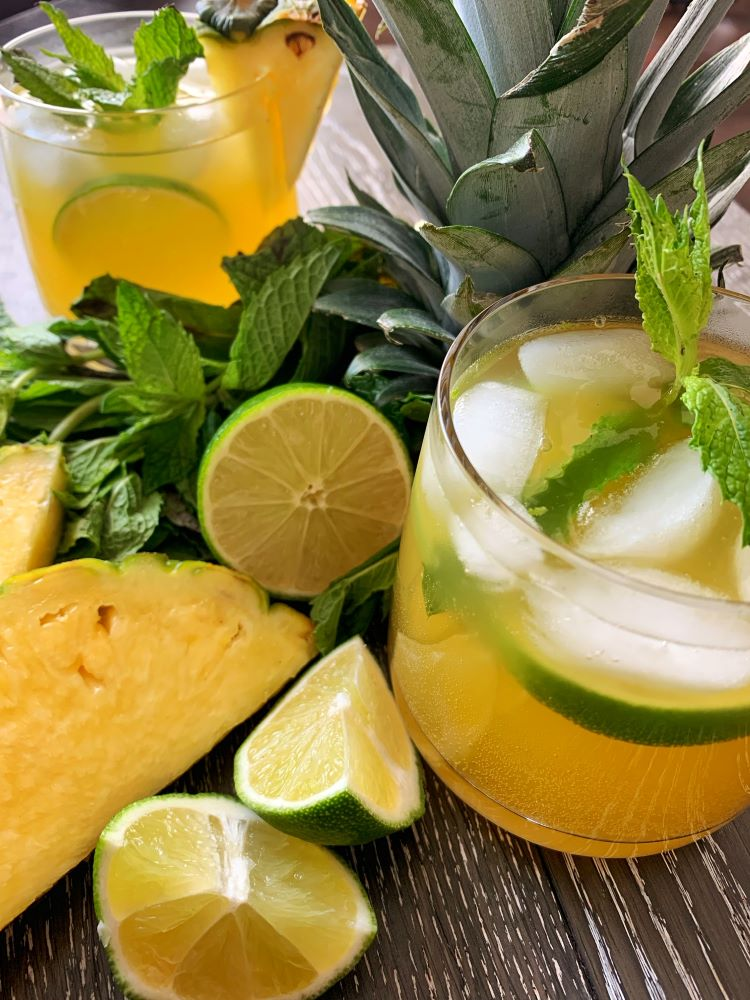 Pineapple Mojito Mocktail
