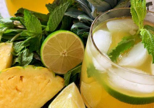 Pineapple Mojito Mocktail