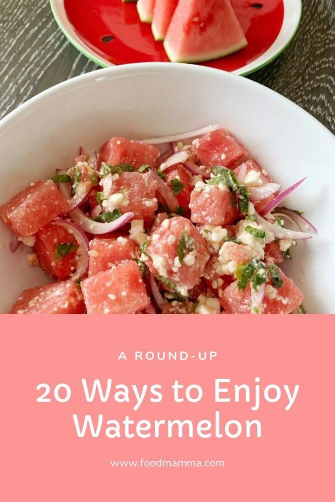 20 Ways to Enjoy Watermelon