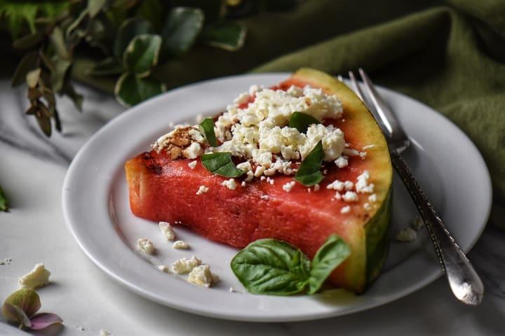 Grilled Watermelon Steak-A Great Appetizer!