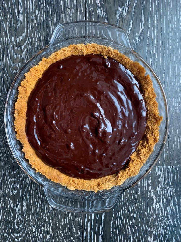 Smore's Pie - Chocolate Layer
