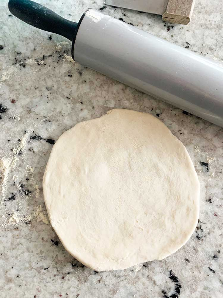 4 Ingredient Pizza Dough
