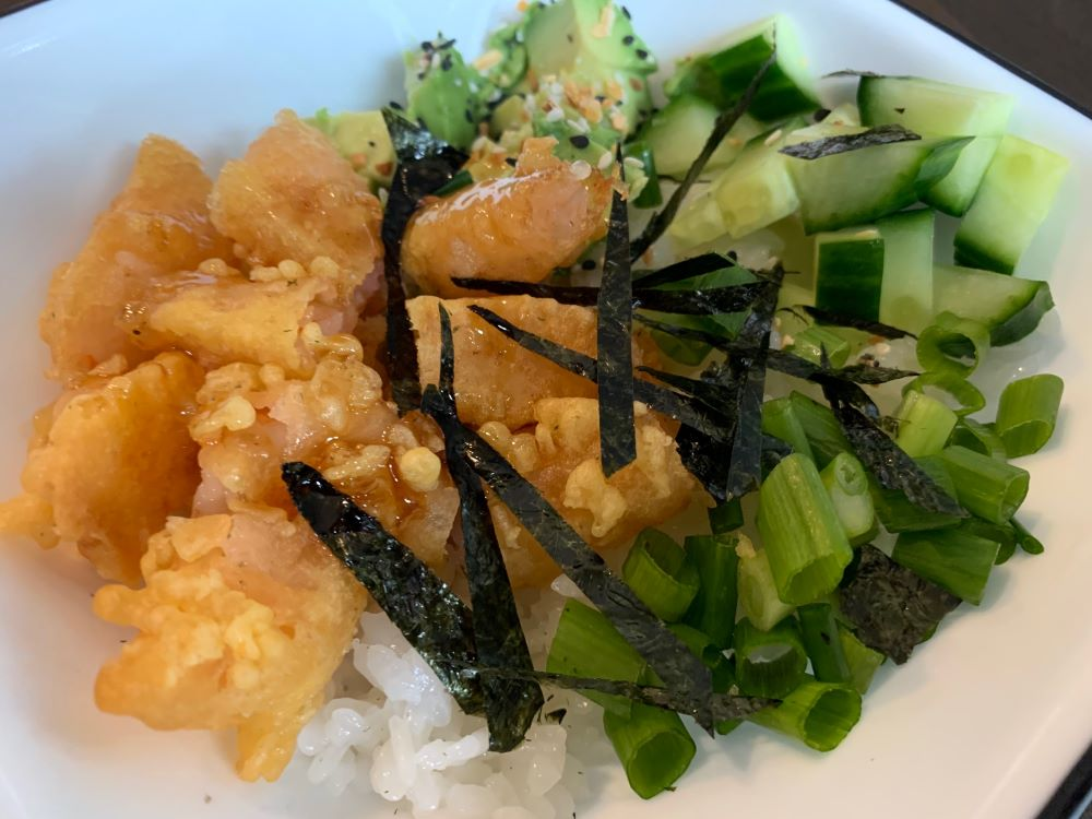 Tempura Sushi Bowl
