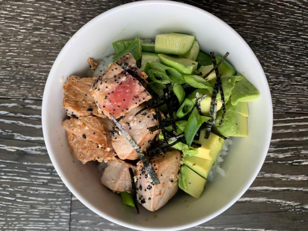 Ahi Tuna Sushi Bowl