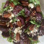 Roasted Beet and Feta Salad