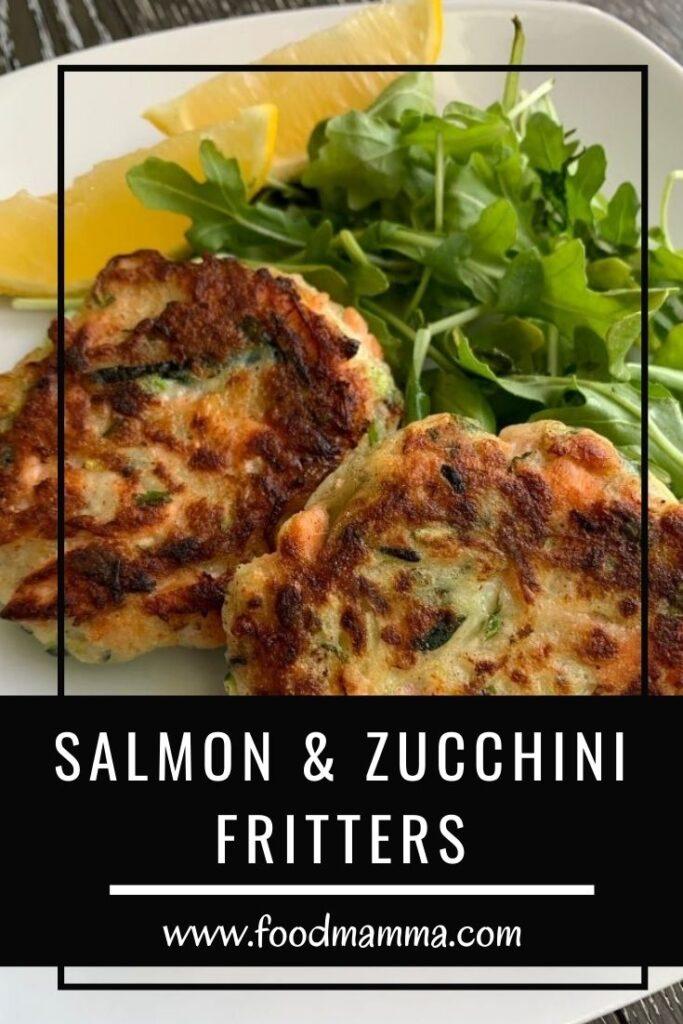 Salmon and Zucchini Fritters