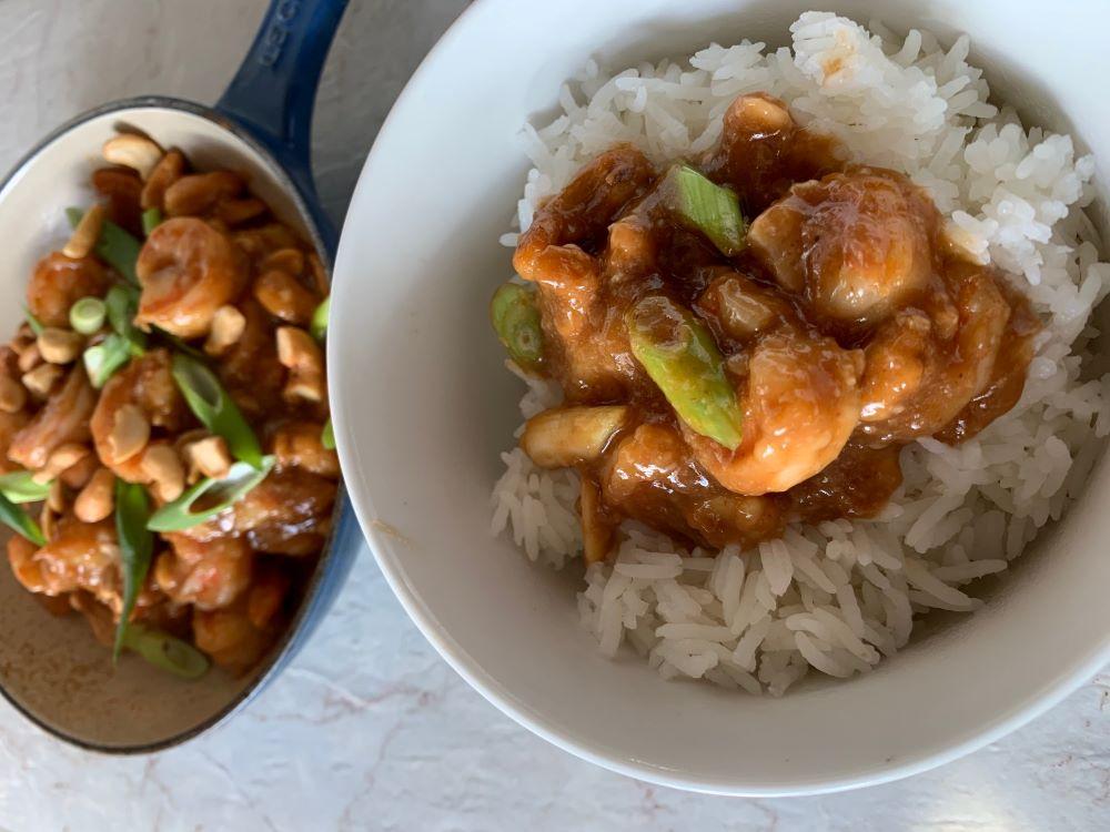 Spicy Teriyaki Shrimp