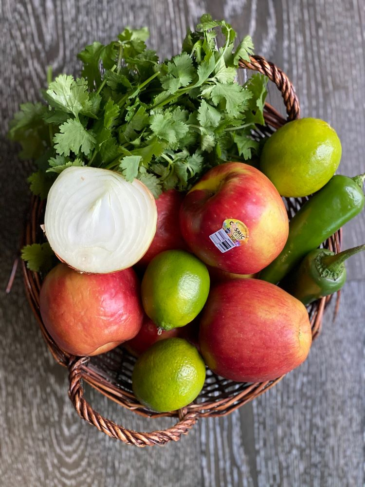 Apple Salsa Ingredients