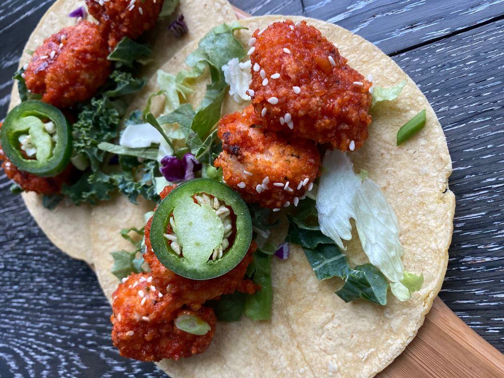 Gochujang Shrimp Tacos