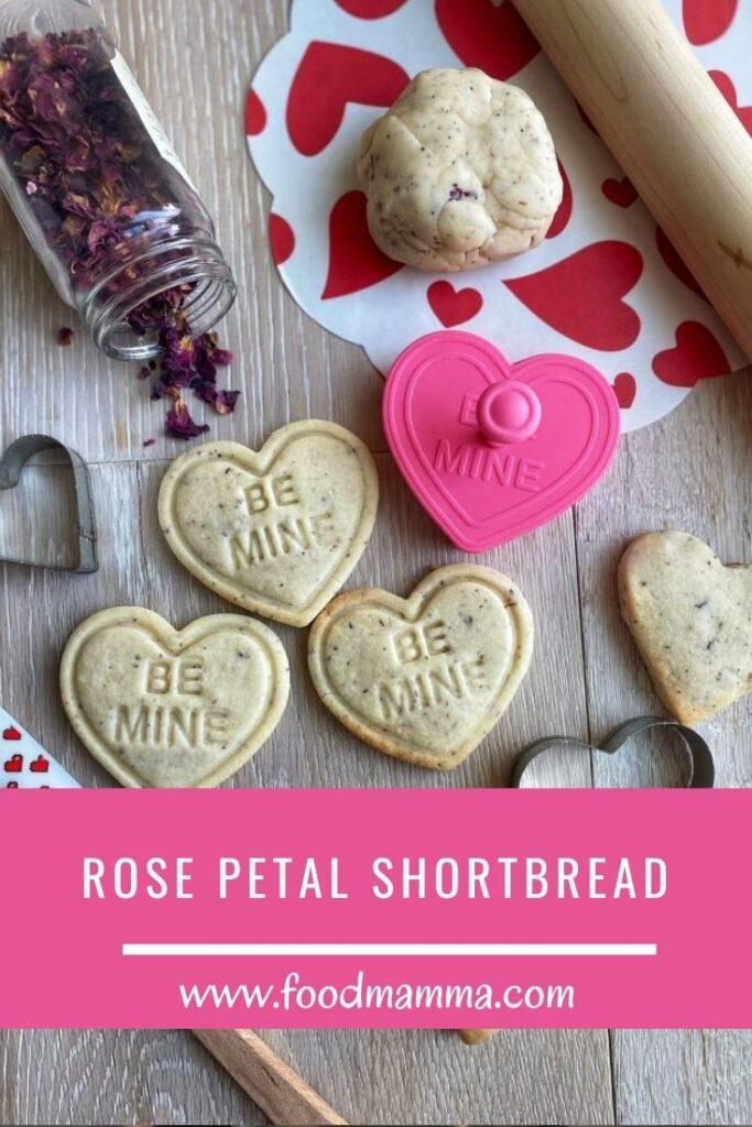 Rose Petal Shortbread