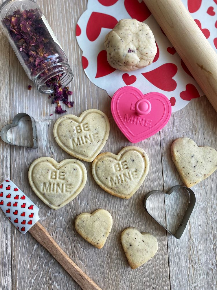 Rose Petal Shortbread