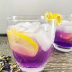 Sparkling Purple Lemonade