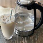 Hamilton Beach Kettle and Iced Latte