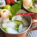 Lychee Mule Mocktail