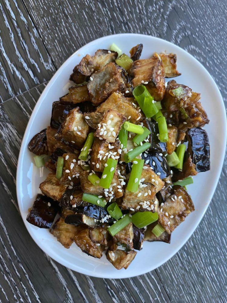 Air Fried Eggplant